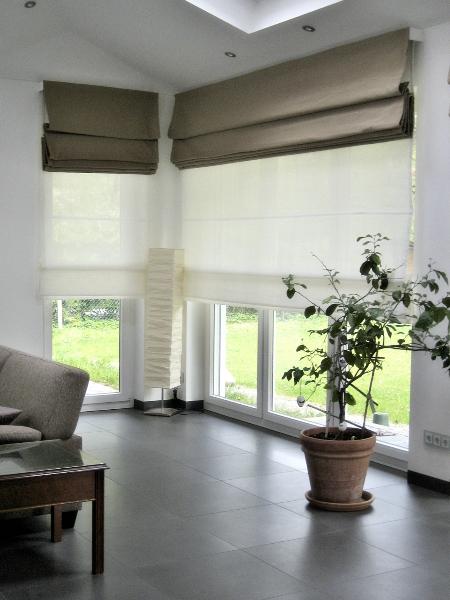 Emejing Raffrollo Wohnzimmer Modern Contemporary - New Home Design ...