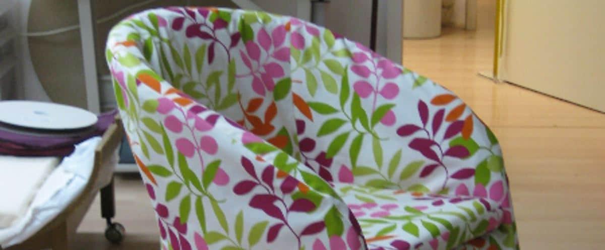 Husse, neues Kleid für Stühle - Scene