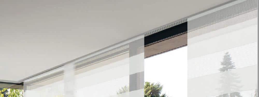 Exklusive Gardinenideen: Flächenvorhänge sind pur und modern