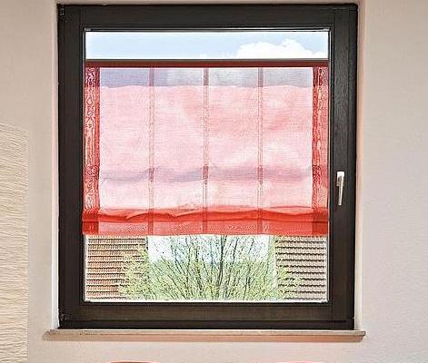 Faltrollo für kleine Fenster