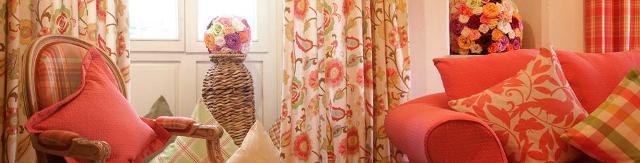 ili Dekostoffe frisch schön für ein Gästezimmer