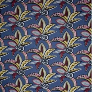 Vorhangstoffe Blumenmuster Tanzania Azul Gaston y Daniela