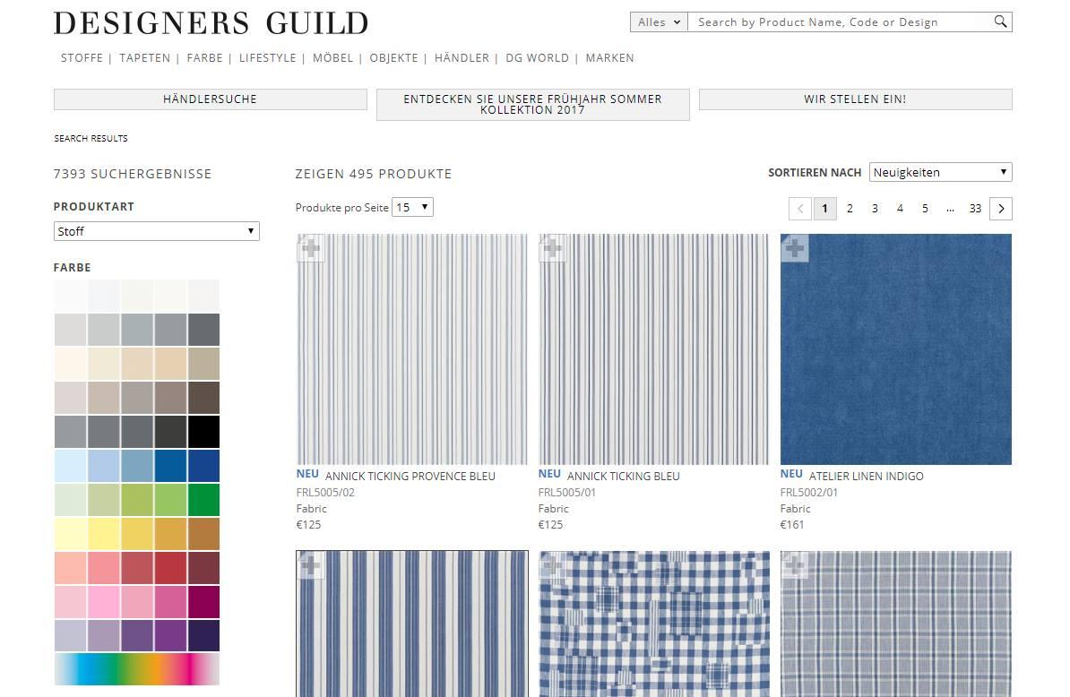 Homepage Dekostoffe kaufen von Polo Ralph Lauren