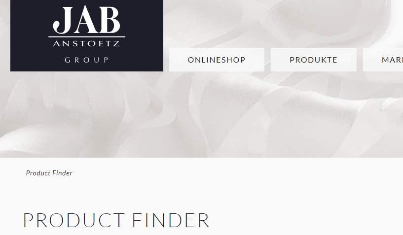 Homepage Dekostoffe kaufen von JAB