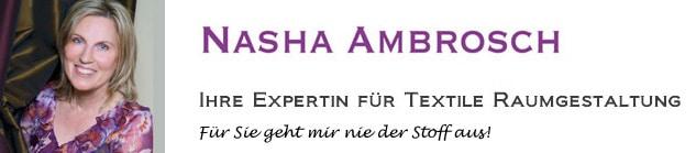 NASHA  AMBROSCH, Textile Raumgestaltung