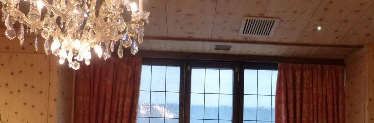 Colefax and Fowler Vorhänge im Hotel Eden Wolff