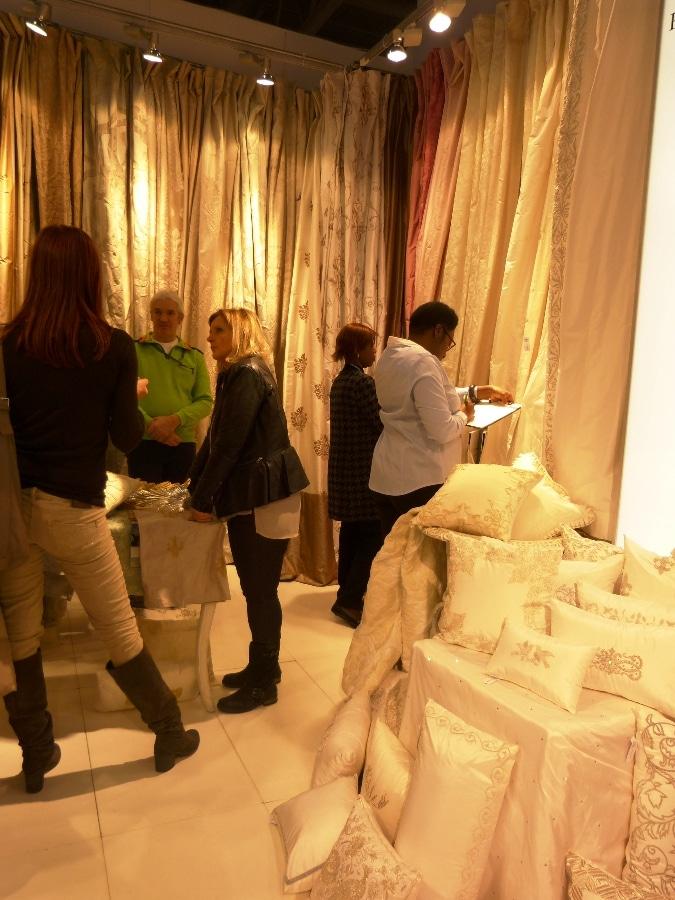 Seidenstoffe-Rica Riebe maison-objet Paris2014