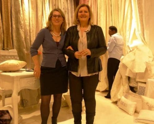 Seidenstoffe von Rica Riebe - mit Naha Ambrosch