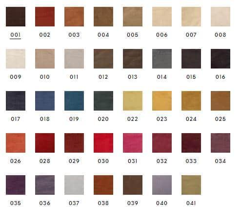 Dedar Bezugsstoff Sansone Farben