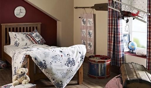 Kindergardinen Buben Zimmer