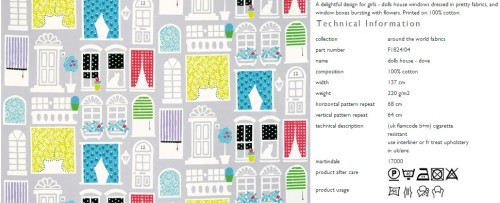 Kinderstoffe-Designers Guild Collection-Around the World