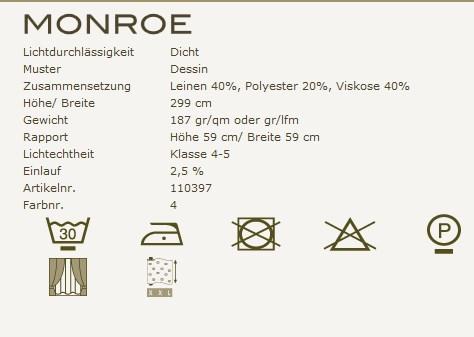 Dekostoff-Kobe-Monroe-Pflegeanleitung