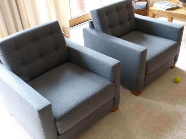 Möbelstoff aus Wolle