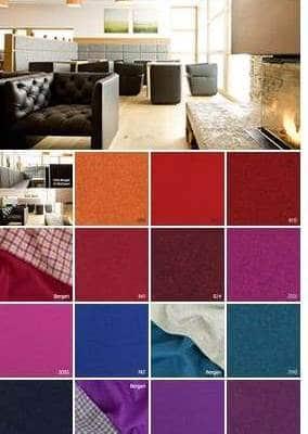 Möbelstoffe aus Wolle Farben
