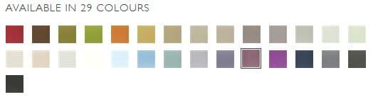 Designers Guild Vorhangstoff Tiber Alta-Farbpalette