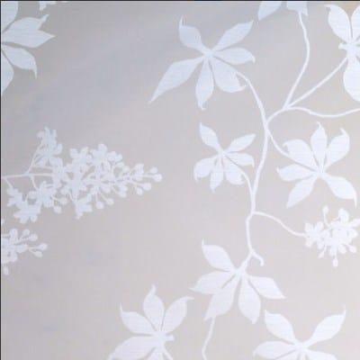 Gardinenstoffe-Blumenmuster
