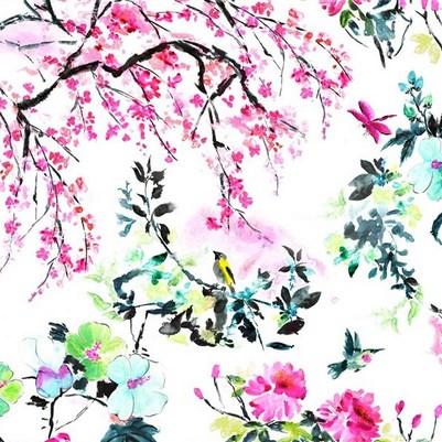 Vorhangstoffe-mit-Blumen-Chinoiserie-Flower-Designers-Guild