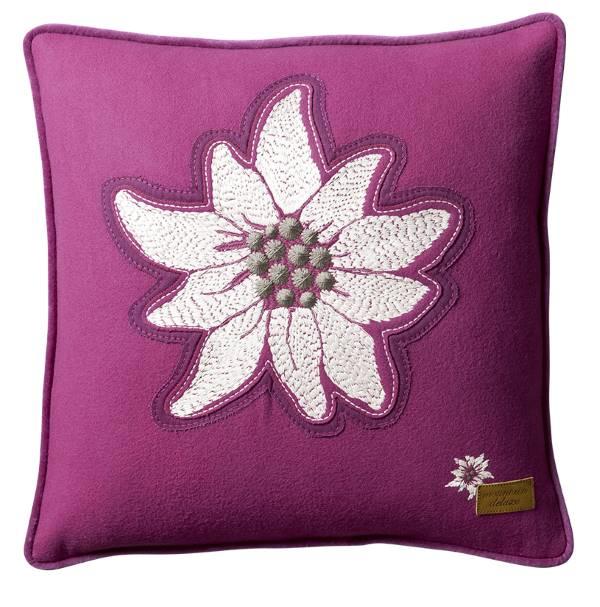 Edelweiss-Kissen-Alpenstern-violett