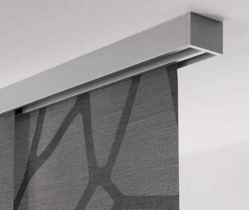 Flächenvorhänge-Deckenschiene-MHZ-Carat
