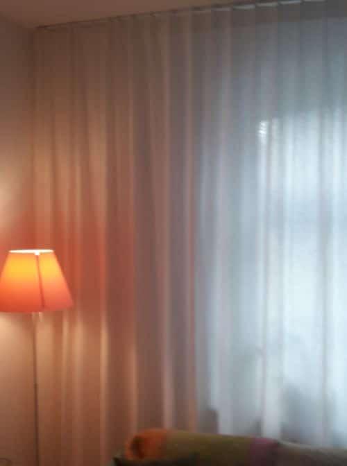 Wohnzimmergardinen-Beratung
