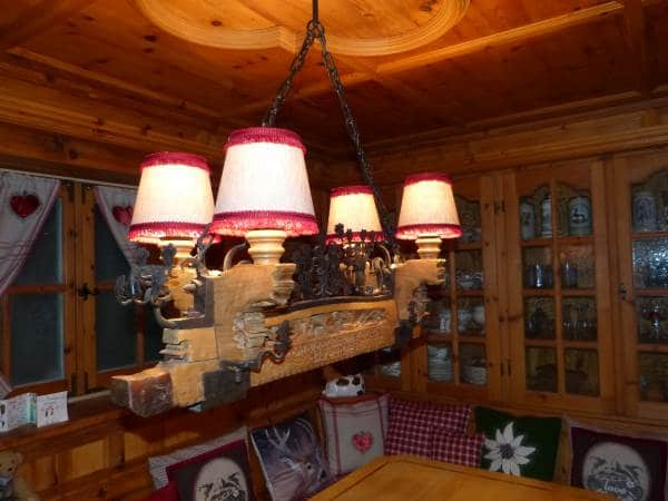 Alpenstil-Lampenschirme
