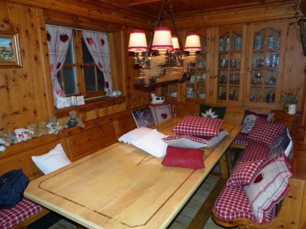 Alpenstil Vorhänge Kissen