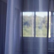 Wärmeschutzvorhang schützt vor Hitze
