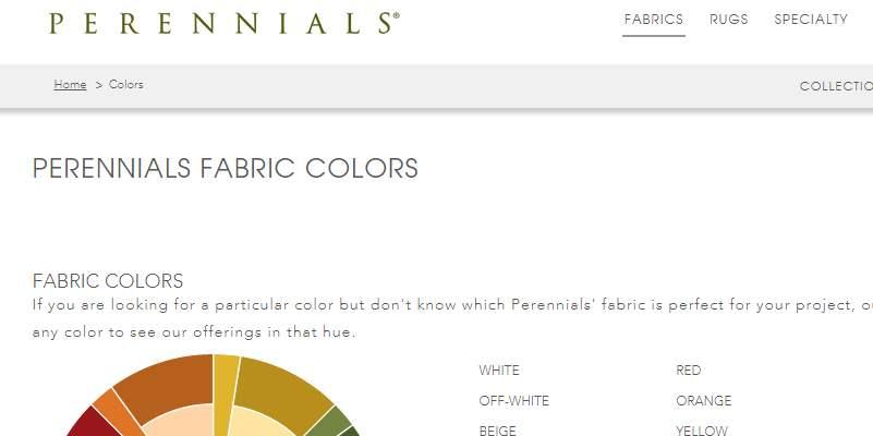 Homepage Dekostoffe kaufen von Perennials