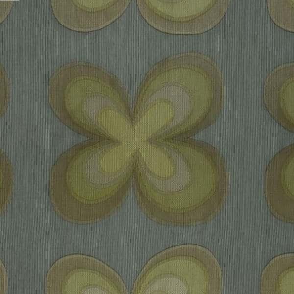 Gardinenstoff Blumenmuster Designers Guild Parika-Lime