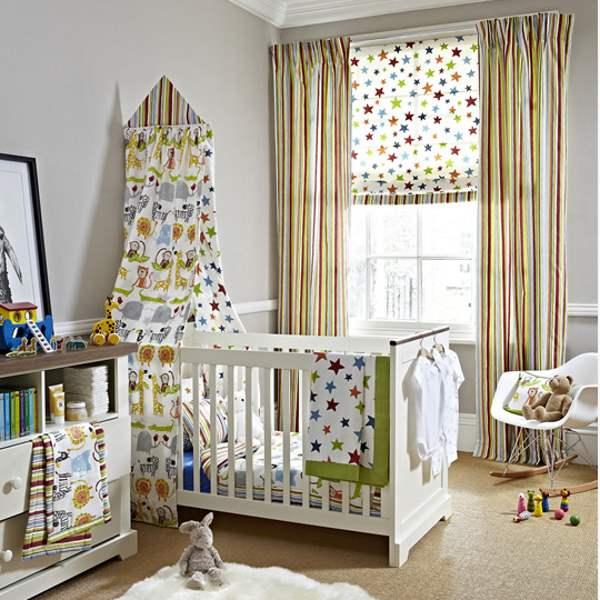 Vorhänge für Kinderzimmer von Prestigious Textiles-Vorhänge
