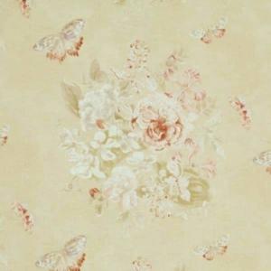 Vorhangstoff mit Blumenmuster Jim Thompson