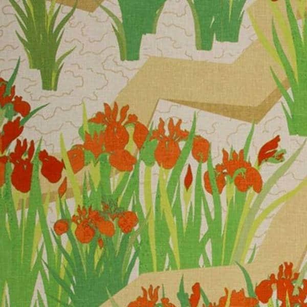 Vorhangstoff Blumen Jim Thompson
