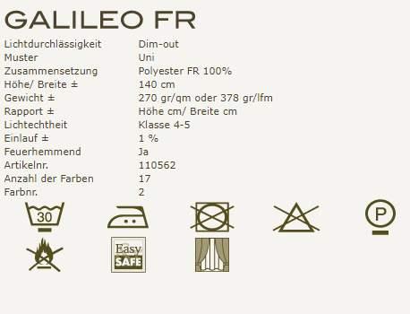Gardinenideen New Classics von Kobe Vorhangstoff Galileo Fr Produktbeschreibung