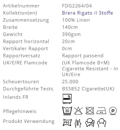 Bezugsstoff-Streifen-Brera-Striscia-Designers-Guild Produkt Info