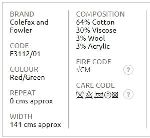 Bezugsstoff-Streifen-Calder-Stripe-Colefax-Fowler Produkt Info