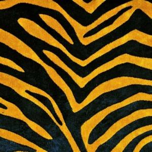 Gardinenideen Eclectic von Kobe Bezugsstoff Zebra