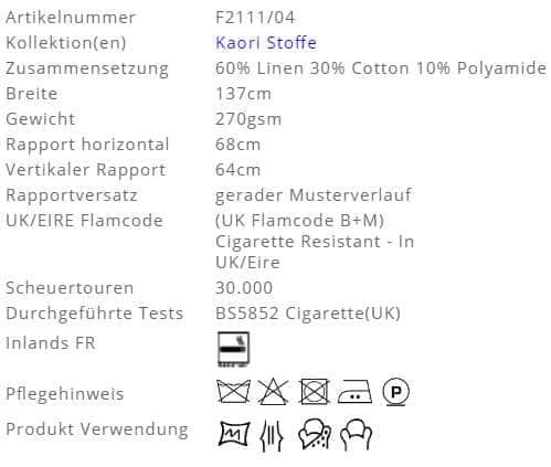 Bezugsstoff-Gemustert-Yuzen-Designers-Guild Pflege