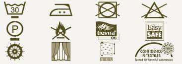 Vorhangstoff Streifen Axell CS Kobe Interior Design Pflege