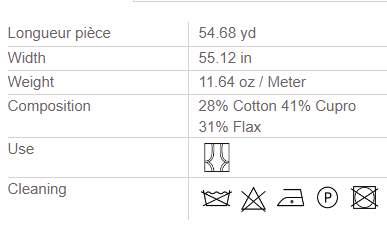 Vorhangstoff-Streifen-Giulia-Houles Info