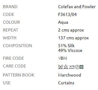 Vorhangstoff-Streifen-Lawn-Stripe-Silk-Colefax-Fowler Info