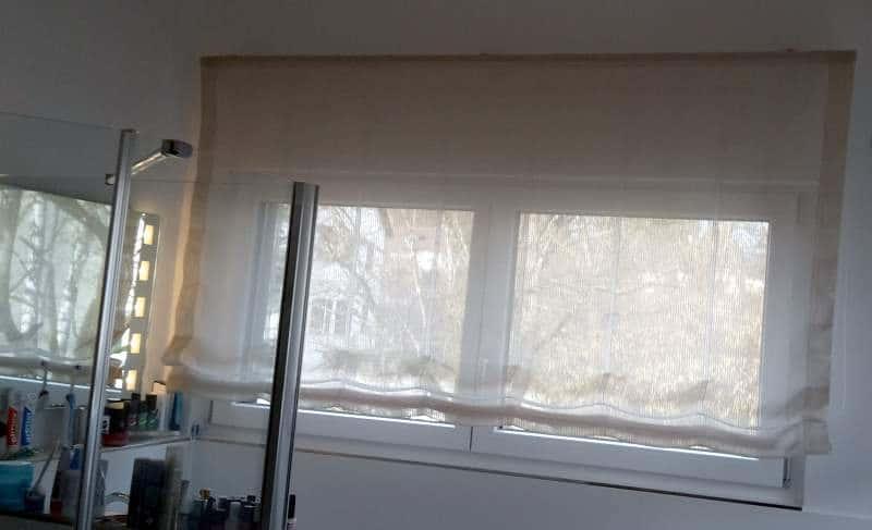 Vorhänge in Haus