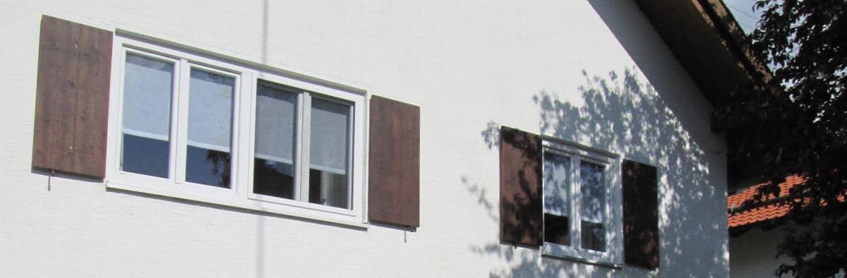 Moderne Scheibengardinen - Scene
