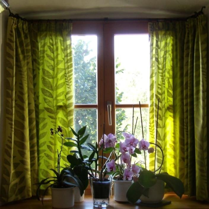deko ideen vorh nge gardinen und hussen f r ihre wohnung. Black Bedroom Furniture Sets. Home Design Ideas