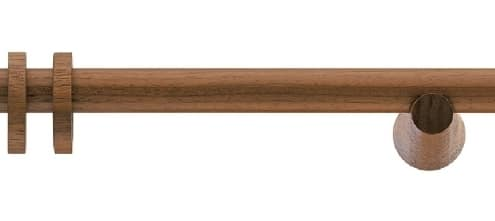 Vorhangstange Holz