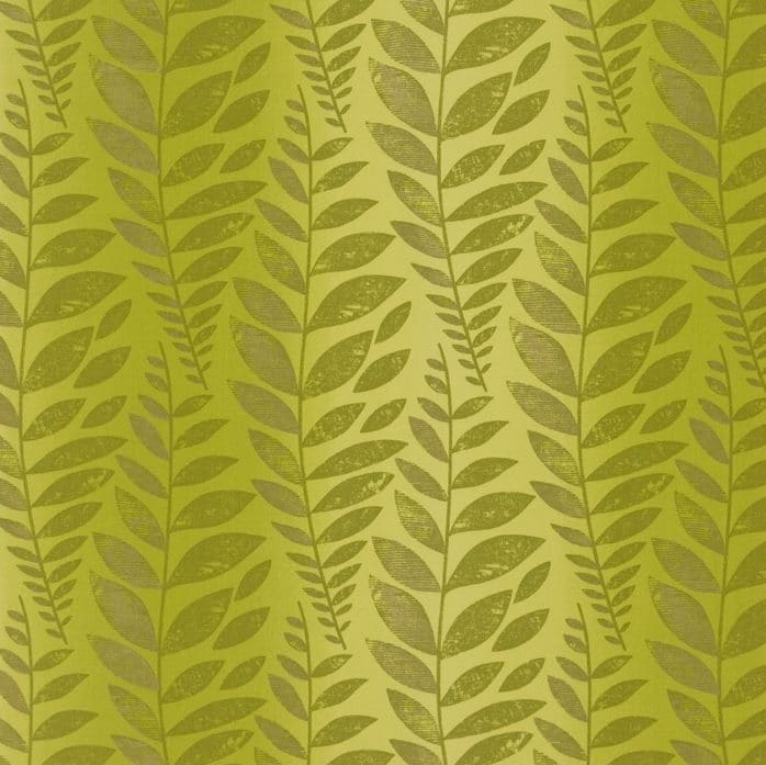 Vorhangstoff-Blumenmuster-Odhni - Moss Designers-Guild