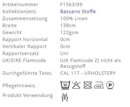 Gardinenstoff-Uni-Bassano-Designers-Guild Info