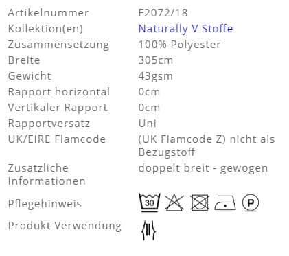 Gardinenstoff-Uni-Carron-Designers-Guild Info