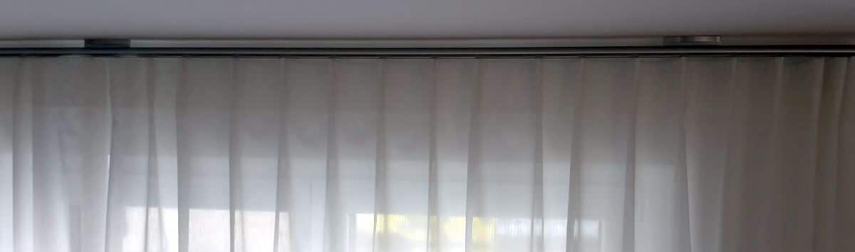 Transparente Akustikgardinen