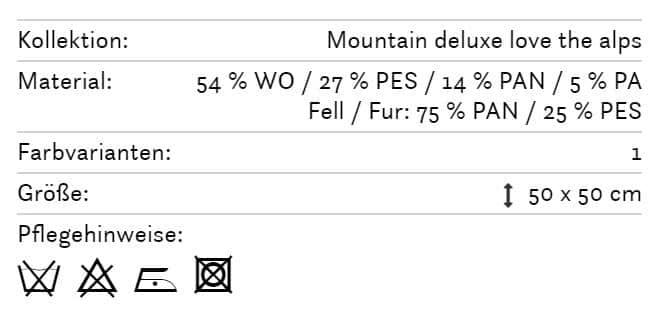 Alpines Kissen Geissenpeter 179 Info