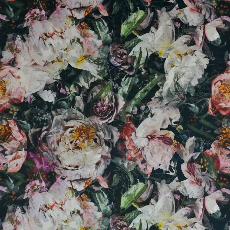 Bezugsstoff-Blumen-Fleur de Niut Noir Designers-Guild